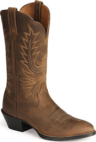Ariat® Heritage Western R Toe - Distressed Brown - Ladies' Western Boots | Spur Western Wear