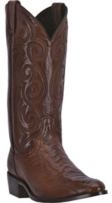918fb4a235a Dan Post Chandler Full Quill Ostrich Western Boot - Black - Men's ...