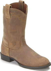 Ariat® Heritage Roper Boot - Distressed Brown - Ladies' Western Boots | Spur Western Wear