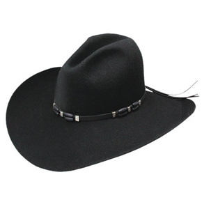 Resistol Cisco 2X Cowboy Hat - Black - Cowboy Hats | Spur Western Wear