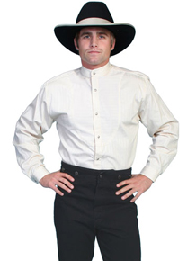 Wah Maker O.C. Smith Shirt - Ivory - Men's Old West Shirts | Spur Western Wear