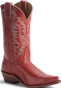 Nocona Rhinestone Western Boots - Red - Ladies' Western Boots | Spur Western Wear
