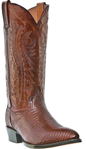 Dan Post Raleigh Teju Lizard Western Boot - Antique Tan - Men's Western Boots | Spur Western Wear