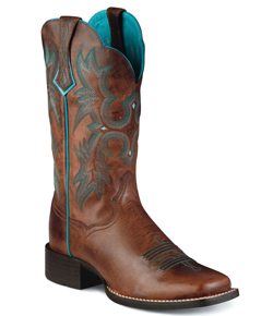 Ariat<sup>®</sup> Tombstone Western Boot - Sassy Brown - Ladies' Western Boots | Spur Western Wear