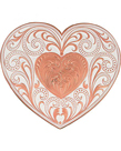Montana Silversmiths® Antiqued Copper Whisper Heart Buckle