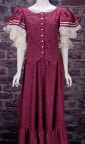 Frontier Classics Emily Ensemble - Burgundy - Ladies' Old West Ensembles | Spur Western Wear