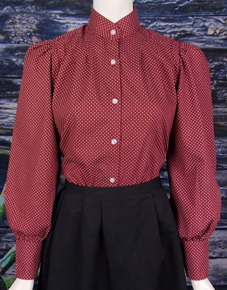 Frontier Classics Red Somerset Blouse