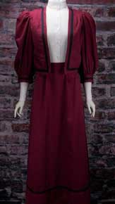 Frontier Classics Burgundy Two Piece Ensemble