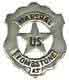 Pieces of History U.S. Marshal of Tombstone Replica Badge