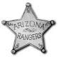 Pieces of History Arizona Rangers Replica Badge