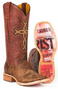 Tin Haul I Believe Western Boot - Brown - Ladies' Western Boots | Spur Western Wear