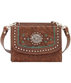 American West Lady Lace Crossbody Bag/Wallet - Ladies' Western Handbags And Wallets | Spur Western Wear
