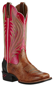 Ariat Catalyst Prime Western Boots - Gingersnap & Calypso Coral - Ladies