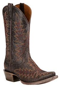 Ariat Brooklyn Western Boots - Coffee - Ladies