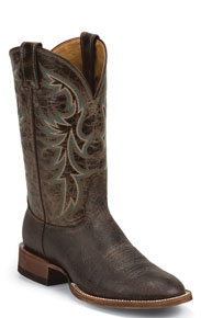 Nocona Whiskey Western Boot - Chocolate - Men's Western Boots | Spur Western Wear