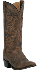 Dan Post Renegade Western Boot - Bay Apache - Round Toe - Men's Western Boots | Spur Western Wear