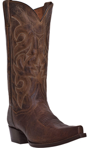 Dan Post Renegade S Western Boot - Bay Apache - Snip Toe - Men's Western Boots | Spur Western Wear