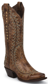 Nocona Sassy Western Boots - Tan - Ladies' Western Boots | Spur Western Wear