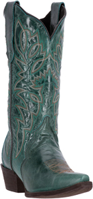 Laredo Leeza Western Boot - Turquoise - Ladies' Western Boots | Spur Western Wear
