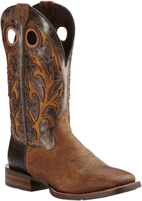 Ariat Barstow Western Boot - Brown - Men's Western Boots | Spur Western Wear