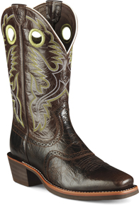 449ea4d21b5 Ariat® Mesteño Western Boot - Adobe Clay/Neon Lime - Men's Western ...