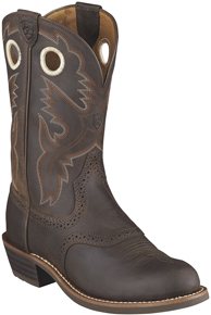 Ariat® Heritage Roughstock Western Boot - Antique Brown - Ladies' Western Boots | Spur Western Wear