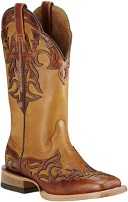 Ariat Cassidy Western Boot - Brown - Ladies' Western Boots | Spur Western Wear