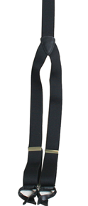 Scully Suspenders - Black