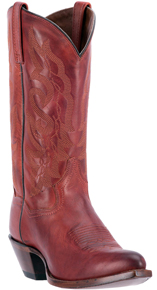 Dan Post Claire Western Boots - Red - Ladies' Western Boots | Spur Western Wear