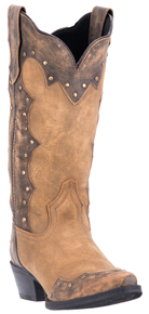 Laredo Lindsey Western Boots - Tan - Ladies' Western Boots | Spur Western Wear
