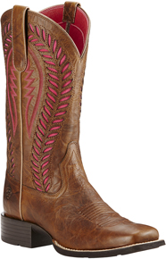 Ariat® Quickdraw VentTEK™ Western Boot - Barn Brown - Ladies' Western Boots | Spur Western Wear