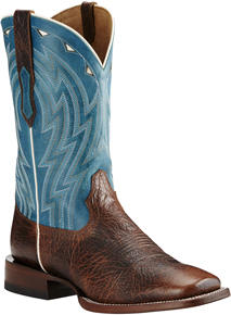 Ariat Cowtown Western Boot - Brown - Men's Western Boots | Spur Western Wear