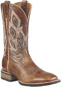 Ariat® Nighthawk Western Boot - Beasty Brown - Men's Western Boots | Spur Western Wear