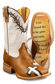 Tin Haul Between Two Thieves Western Boot - Brown -  Ladies' Western Boots | Spur Western Wear