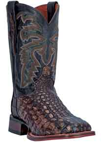 Dan Post Everglades Caiman Western Boot - Brown - Men's Western Boots | Spur Western Wear