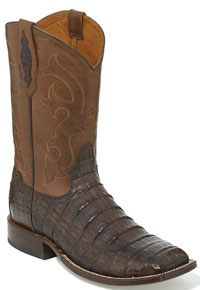 Tony Lama 1911 Canyon Caiman Western Boot - Brown - Men's Western Boots | Spur Western Wear
