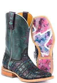 Tin Haul Entwined Western Boot - Multicolored - Ladies' Western Boots | Spur Western Wear