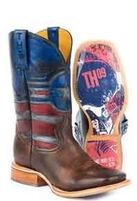 Tin Haul Justice Western Boot - Brown - Men's Western Boots | Spur Western Wear