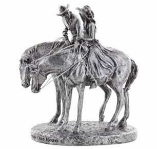 Montana Silversmiths® Two Trails Become One Cake Topper - Western Wedding Accessories | Spur Western Wear
