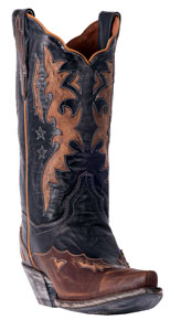 Dan Post Amelia Western Boot - Black - Ladies' Western Boots | Spur Western Wear