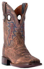 Dan Post Badlands Bison Western Boot - Tan - Men's Western Boots | Spur Western Wear