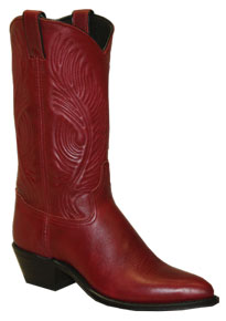 Abilene Dress Western Boot - Red - Ladies' Western Boots | Spur Western Wear