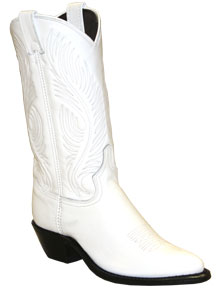 Abilene Dress Western Boot - White - Ladies' Western Boots | Spur Western Wear