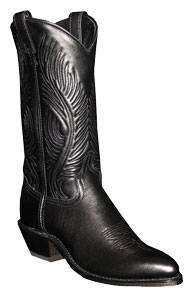 Abilene Dress Western Boot - Black - Ladies' Western Boots | Spur Western Wear