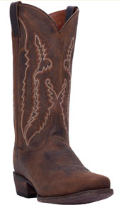 Dan Post Renegade CS Western Boot - Bay Apache - Cowboy Square Toe - Men's Western Boots | Spur Western Wear