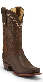 Tony Lama 100% Vaquero Cliffrose Western Boot - Sorrel - Ladies' Cowboy Boots | Spur Western Wear