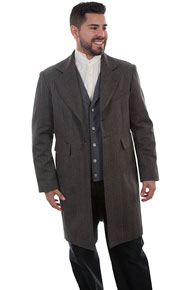 Wah Maker Striped Frock Coat