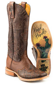 Tin Haul Cactooled Western Boot - Brown - Ladies' Western Boots | Spur Western Wear
