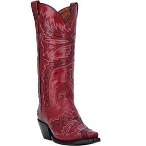 Dan Post Hallie Western Boot - Red - Ladies' Western Boots | Spur Western Wear
