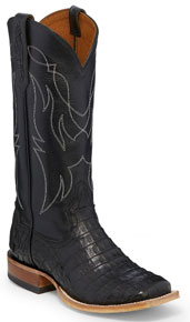 Tony Lama 1911 Leighton Caiman Western Boot - Black - Ladies' Western Boots | Spur Western Wear
